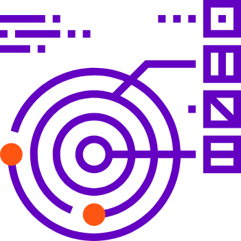 Four circle with two dots Combining unstructured data, Unstructured data