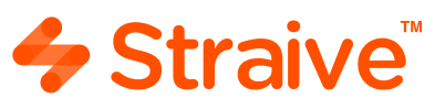 Straive Logo - Unstructured Data Solutions, Edtech, Publishing Services